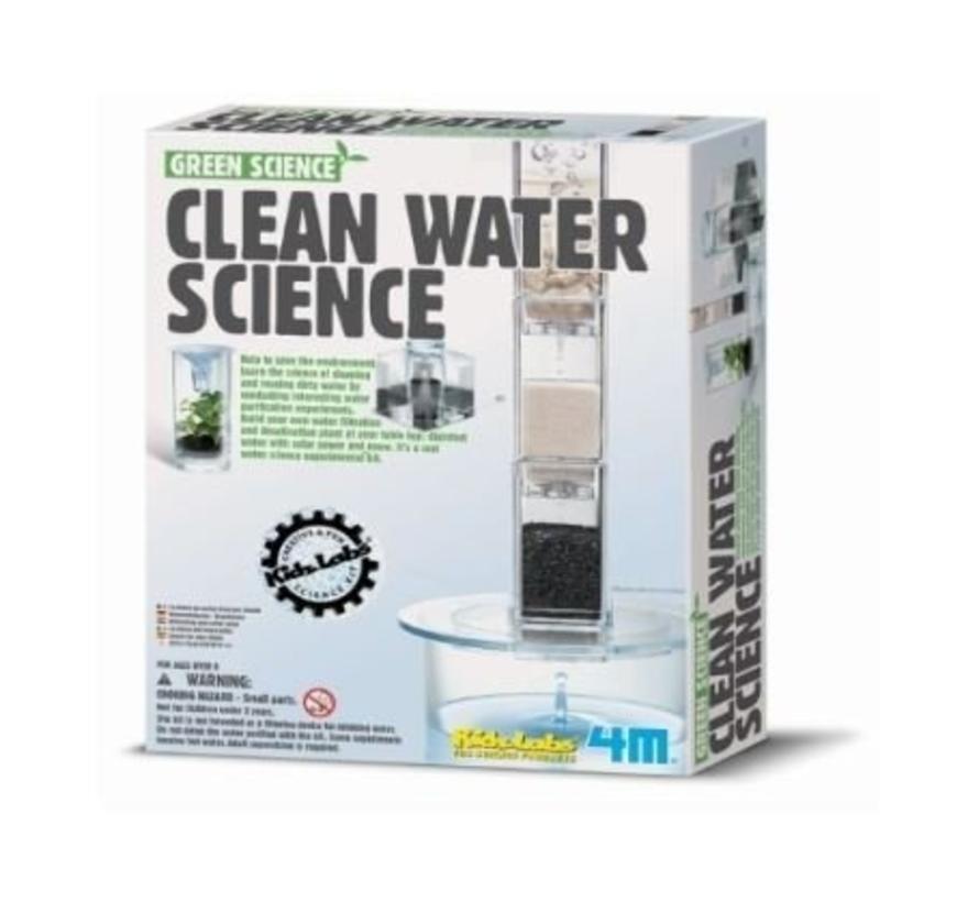 Doe-het-zelf Drinkwater zuivering