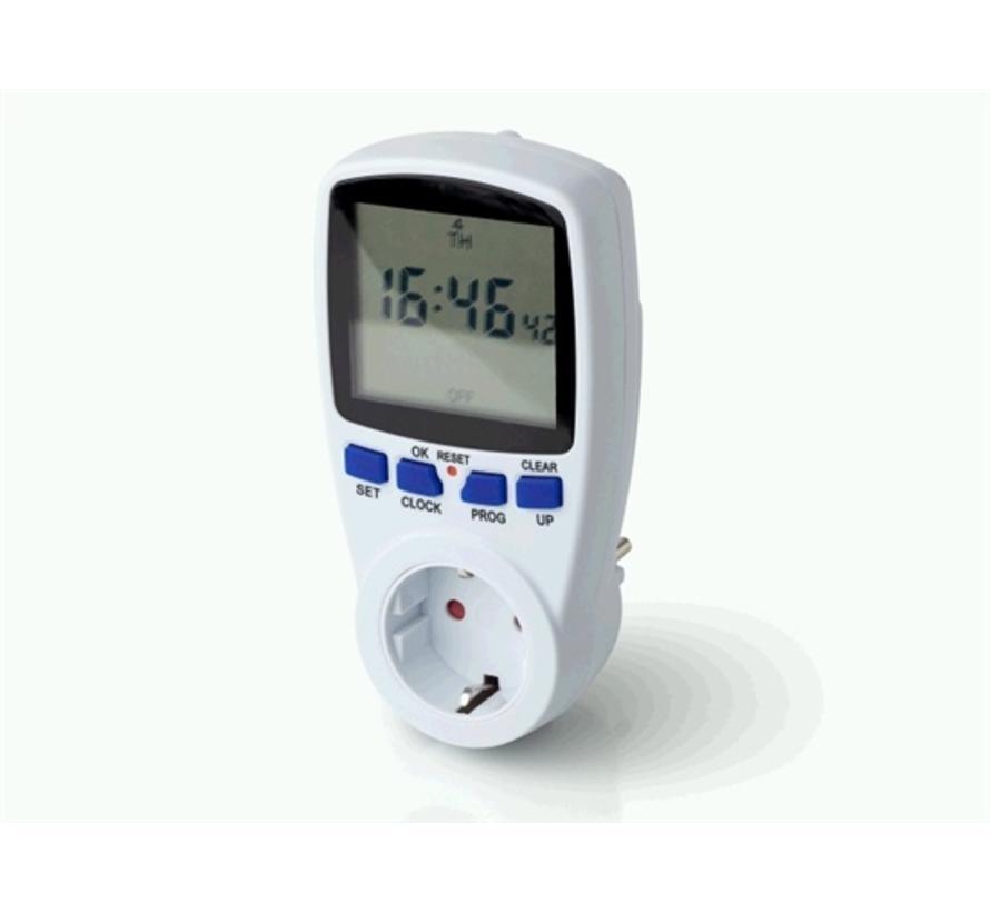 Digitale tijdschakelklok met Timer