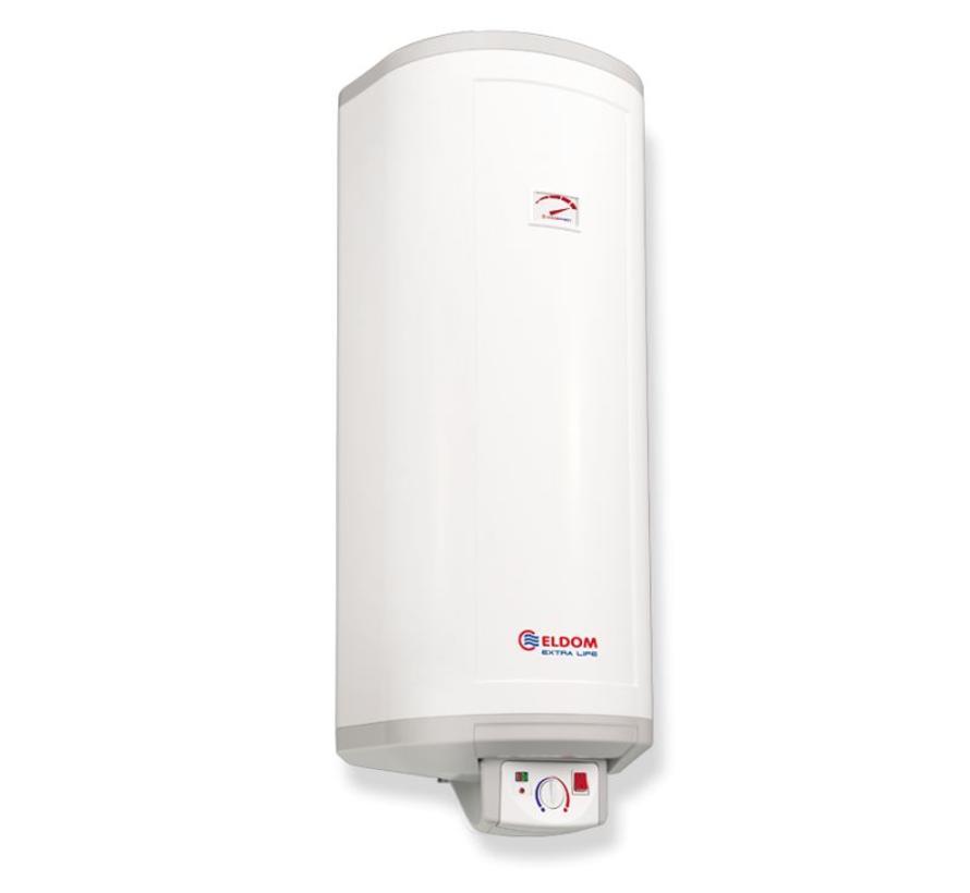 Verticale elektrische boiler 80L, Extra Life, slank model, 2kW, emaille