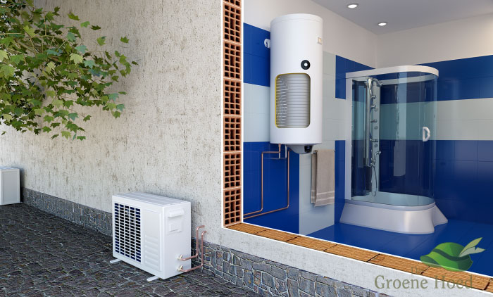 tapwater warmtepomp eldom - groene hoed duurzaam