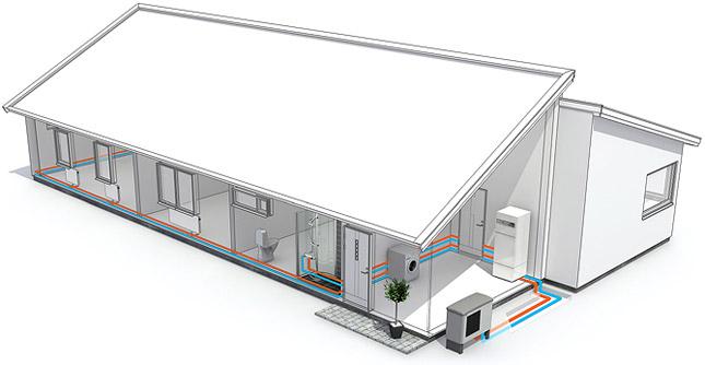 lucht-water warmtepomp voor uw huis