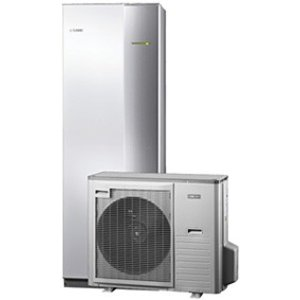 Nibe Energiesystemen Systeem 1 lucht/water warmtepomp met ACVM 270 binnenunit en AMS 10-8 buitenunit