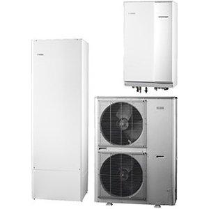 Nibe Energiesystemen Systeem 4 lucht/water warmtepomp, HBS 11-16 hydrobox met HEV 300 boiler en AMS 10-16 buitenunit