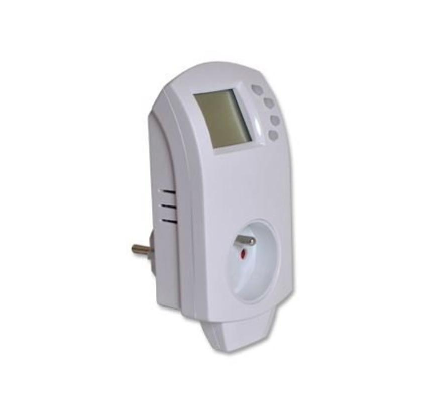 Thermostaat stekkerplug voor elektrische verwarming