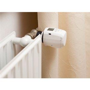 Go Green Digitale thermostaatknop voor op de radiator