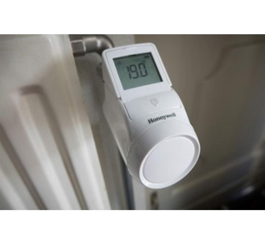 EvoHome 4x radiatorregelaar