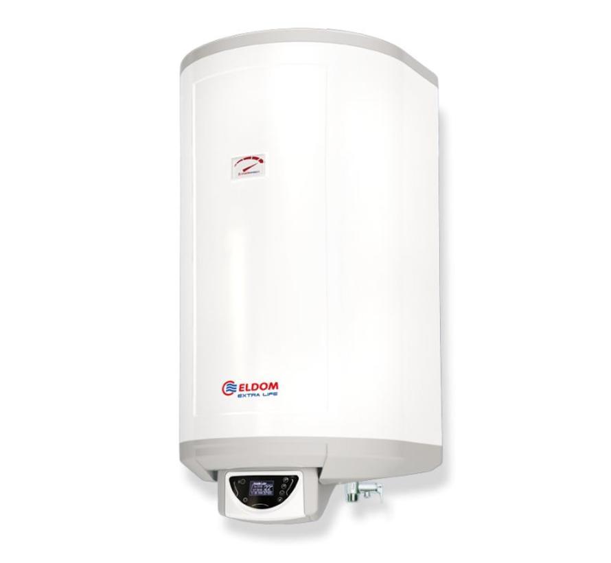 Verticale elektrische boiler 80L, Extra Life, 3kW, met digitale bediening