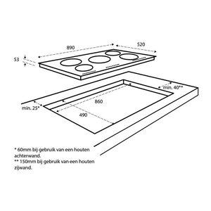 Inventum IKI9021 Inductiekookplaat