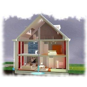 Complete installatie voor gebruik van regenwater