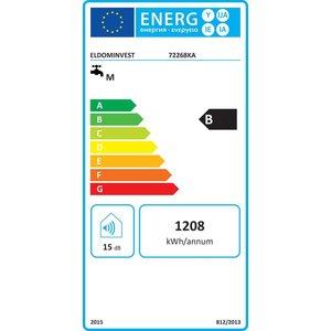 ELDOM Extra Life Verticale elektrische boiler 80L, Extra Life, slank model, 2kW, emaille
