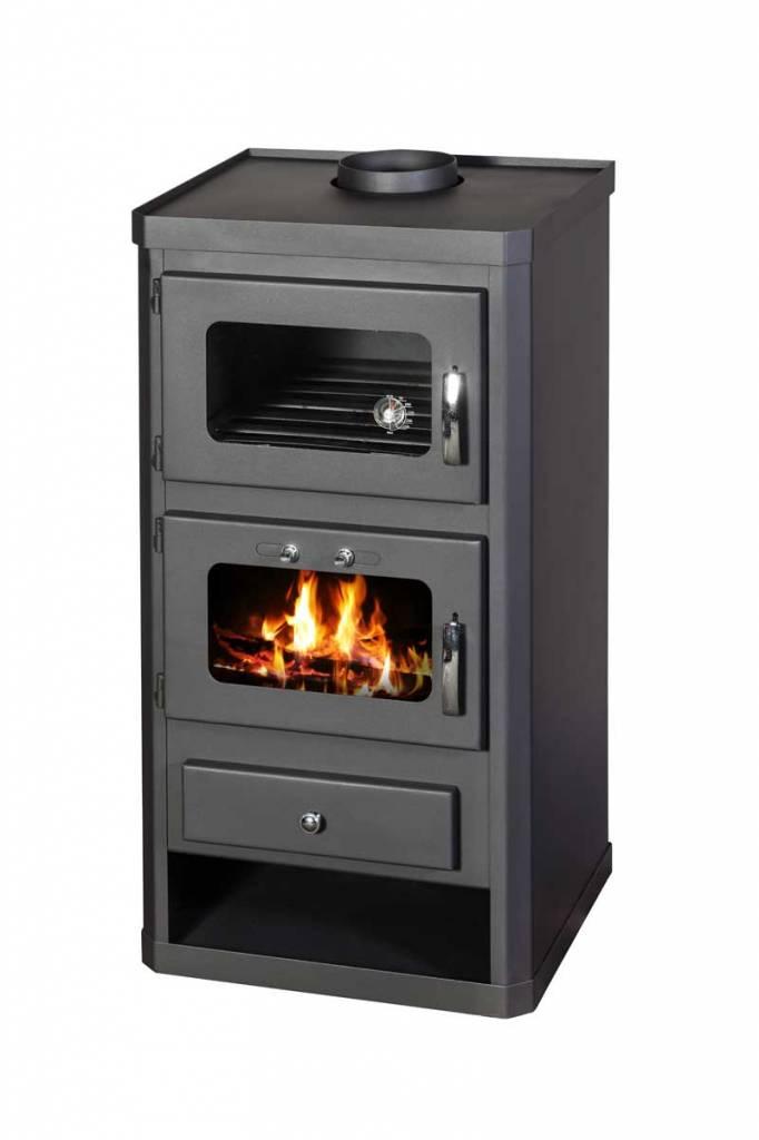 norma ftcv houtkachel met oven - groene hoed duurzaam