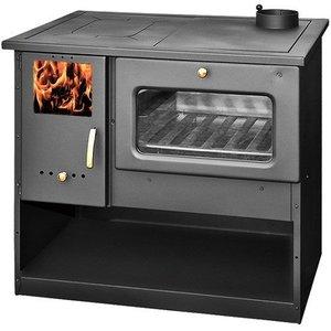 Skladova Tehnika Metalurguia houtkachel met oven en fornuis (9 kW)