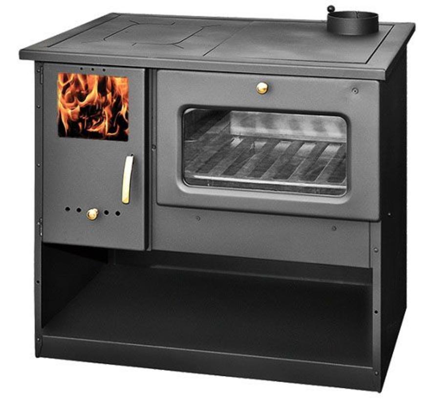 Metalurguia houtkachel met oven en fornuis (9 kW)