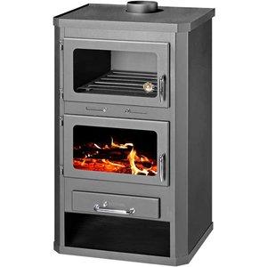 Skladova Tehnika Lotos Max FTB, vrijstaande CV Houtkachel met oven, 19 kW