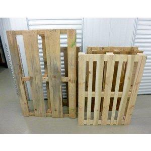 Gebruikte houten pallets, los of per set