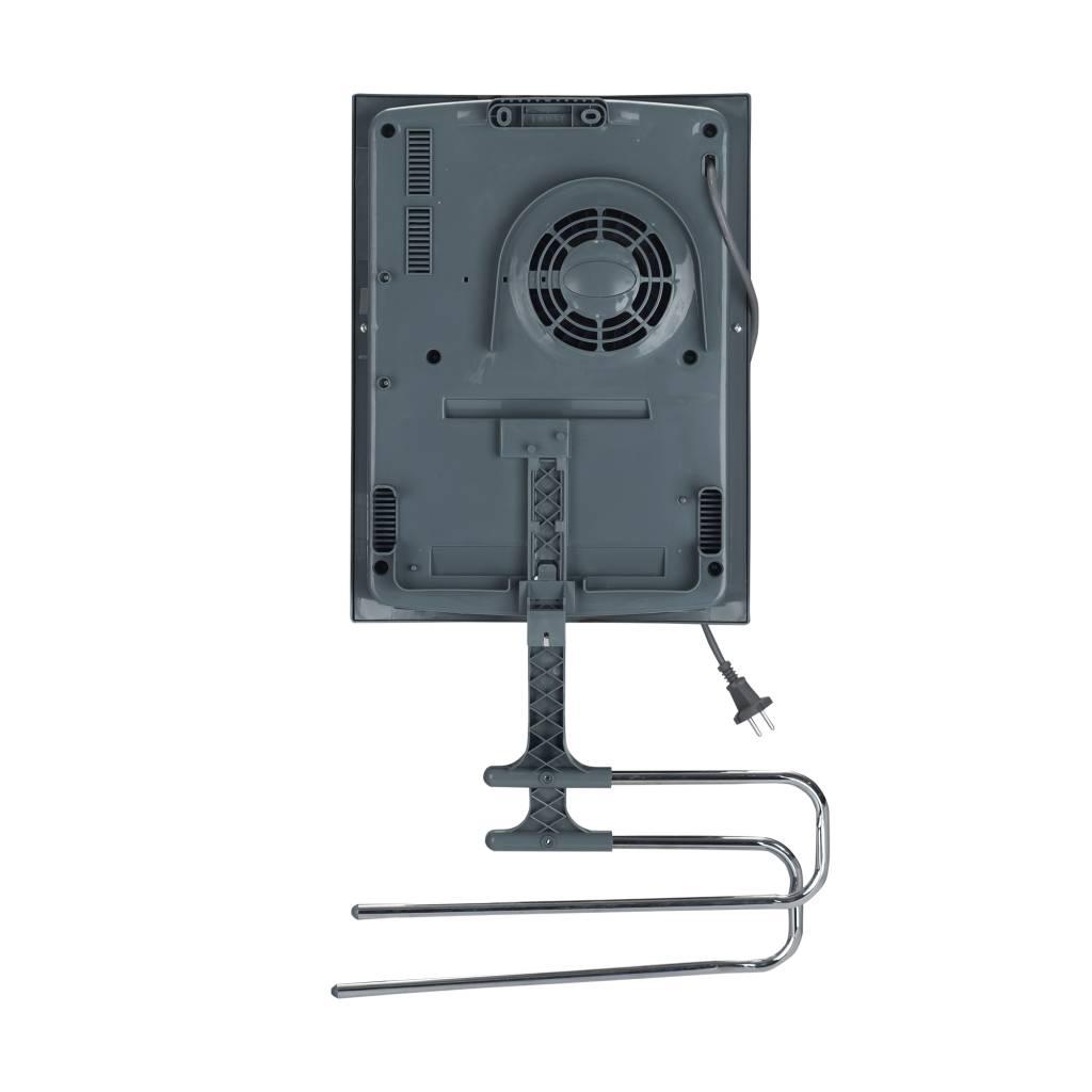 Badkamerverwarming met ventilator en handdoeken rek (2 kW ...