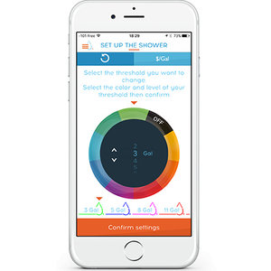 Hydrao - besparende douchekop met App