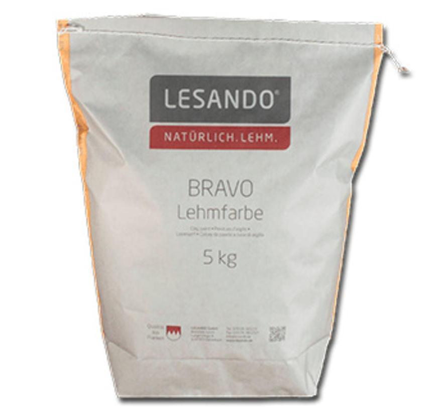 Bravo leemverf (zak 2 kg)