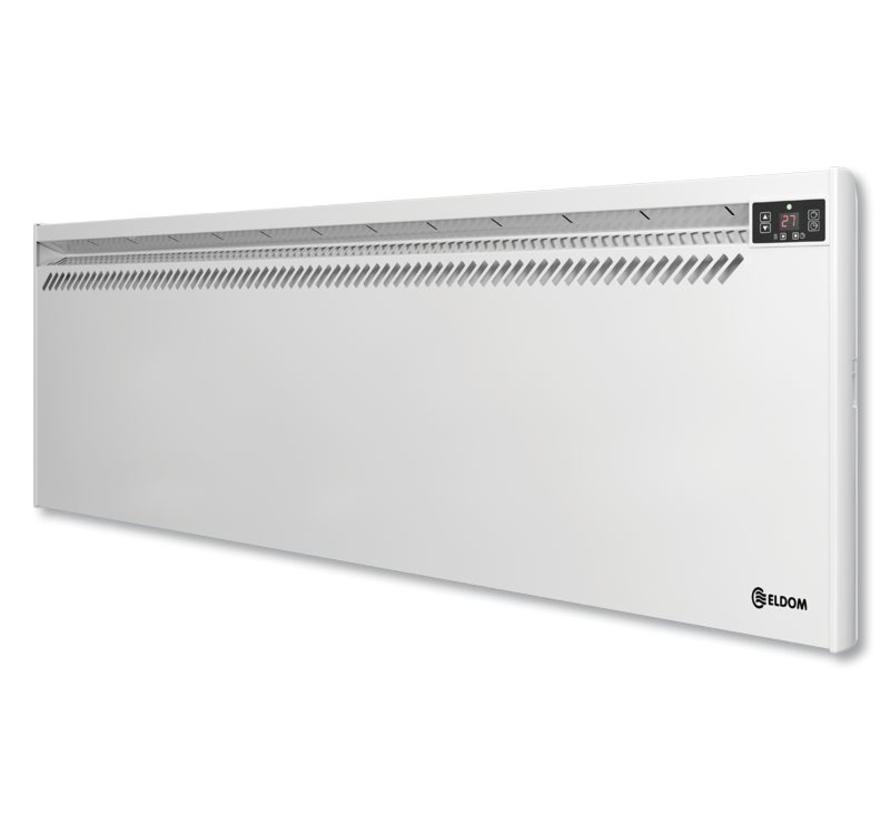 Eldom Extra Life 2,5 kW elektrische wandconvector met digitale bediening en thermostaat