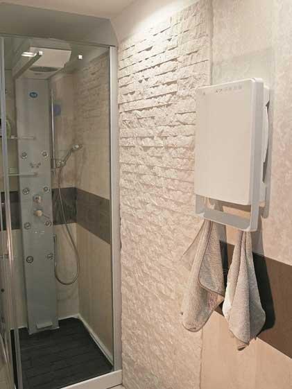 Aurora Touch Wit Badkamerverwarming - Verkrijgbaar bij de Groene ...