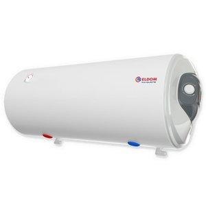 ELDOM Favourite Elektrische Boiler 120L, horizontaal, 3kW, emaille, elek aansluiting links of rechts, water aansluiting aan de onderzijde