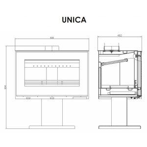 Victoria Unica vrijstaande houtkachel 11 kW