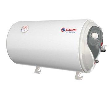 ELDOM Favourite 50L Horizontale elektrische boiler, aansluiting links of rechts