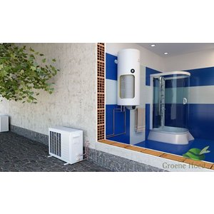 ELDOM Green Line Lucht-water Warmtepomp 120 liter met extra warmtewisselaar, voor tapwater
