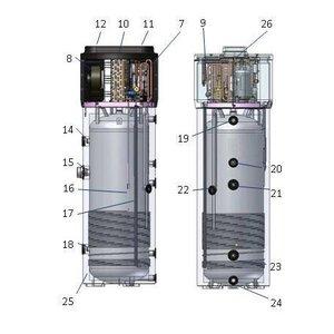 Tesy Warmtepomp boiler 260L