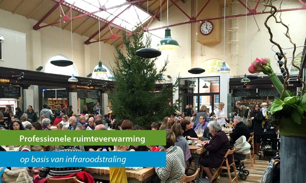 Proffesionele verwarming voor werkplaatsen, winkels, garages en restaurants