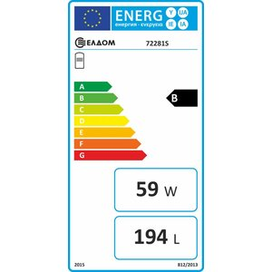 ELDOM Green Line Verticale elektrische boiler 200L, 3kW met warmtewisselaar