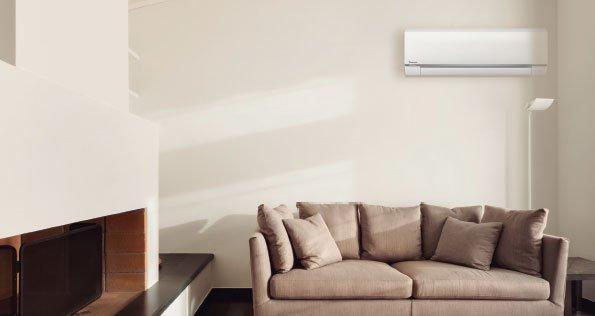 Inverter airco warmtepomp voor koelen of verwarmen