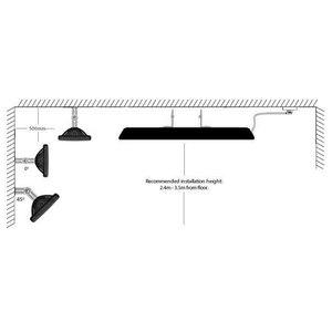 Herschel Colorado 2500R - Terrasverwarmer met afstandsbediening