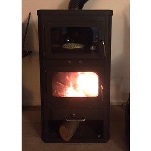 Skladova Tehnika Lotos Max FT, vrijstaande houtkachel met oven, 14 kW