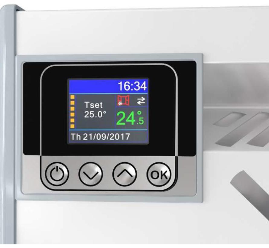 Eldom Extra Life 1,5 kW elektrische wandconvector met digitale bediening en thermostaat ErP