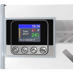 ELDOM Extra Life Eldom Extra Life 3,0 kW elektrische wandconvector met digitale bediening en thermostaat ErP