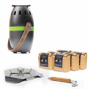 ikiPele ikiPele, een compacte rookvrije pelletkachel voor buiten