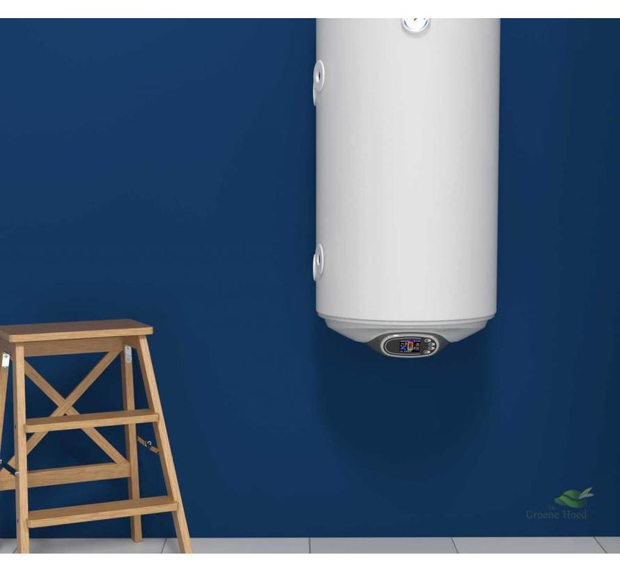 Elektrische boiler 120L met 2 warmtewisselaars en digitale bediening