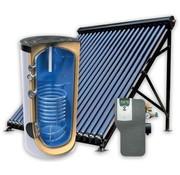 Tesy 160L zonneboiler-set voor tapwater ondersteuning
