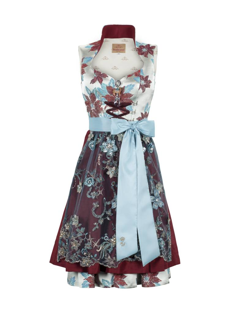 astrid s ll dirndl couture modell fleur t rkis trachtine. Black Bedroom Furniture Sets. Home Design Ideas
