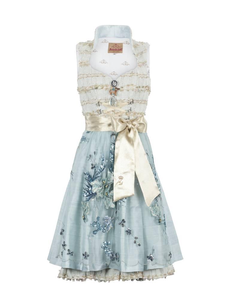 astrid s ll dirndl couture modell paris blau trachtine