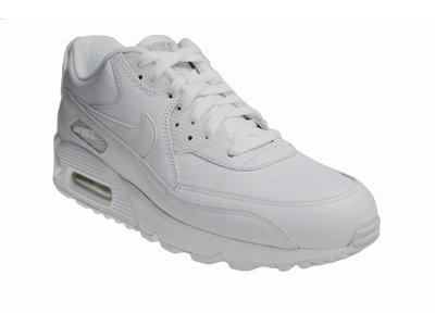Nike Air Max 90 Leather (Wit Leer) 302519 113 Sneakers