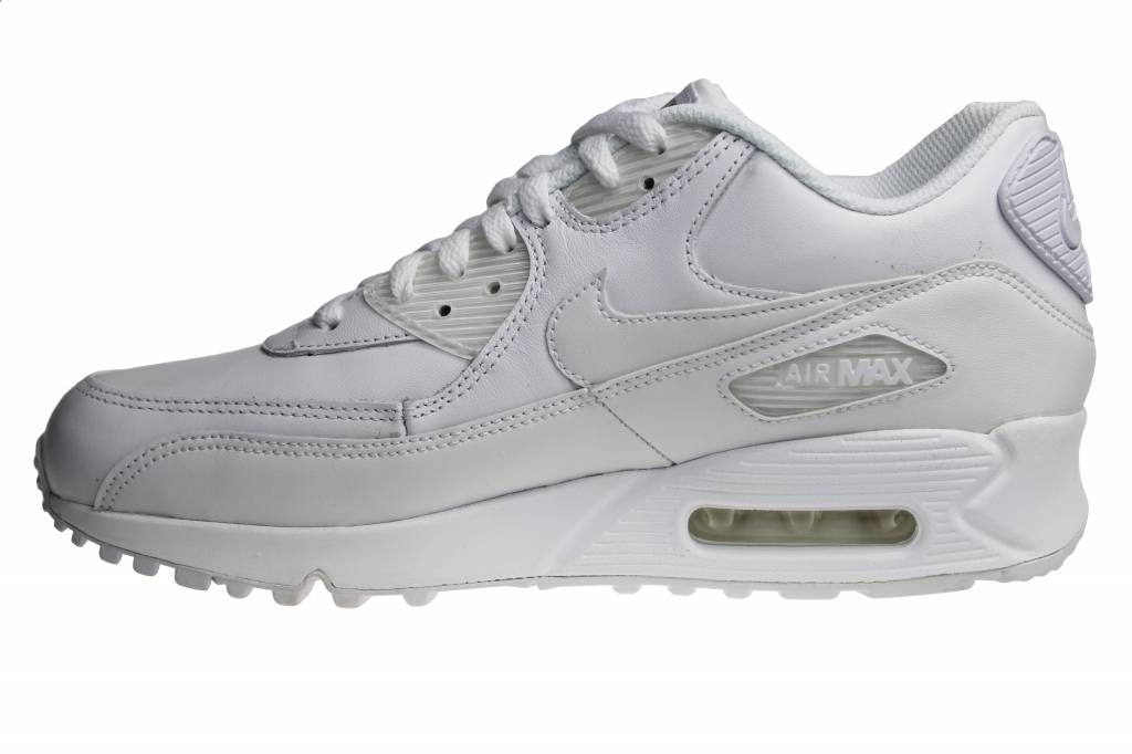 best service bd598 fd6af ... ireland nike air max 90 leather white white 302519 113 sneakers a7e4e  6428b
