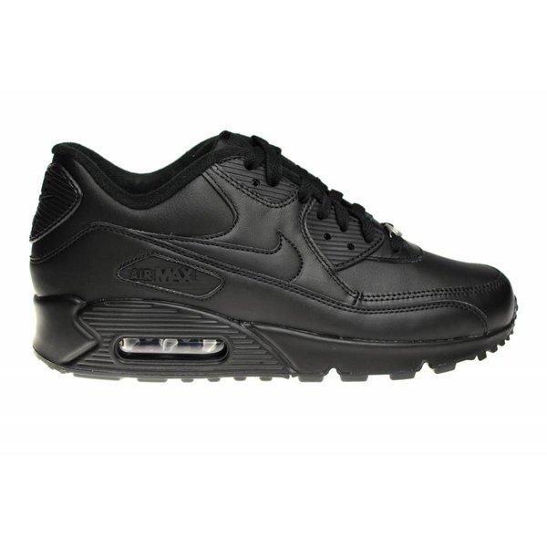 """Nike Air Max 90 Leather """"Zwart Leer"""" 302519 001 Sneakers"""