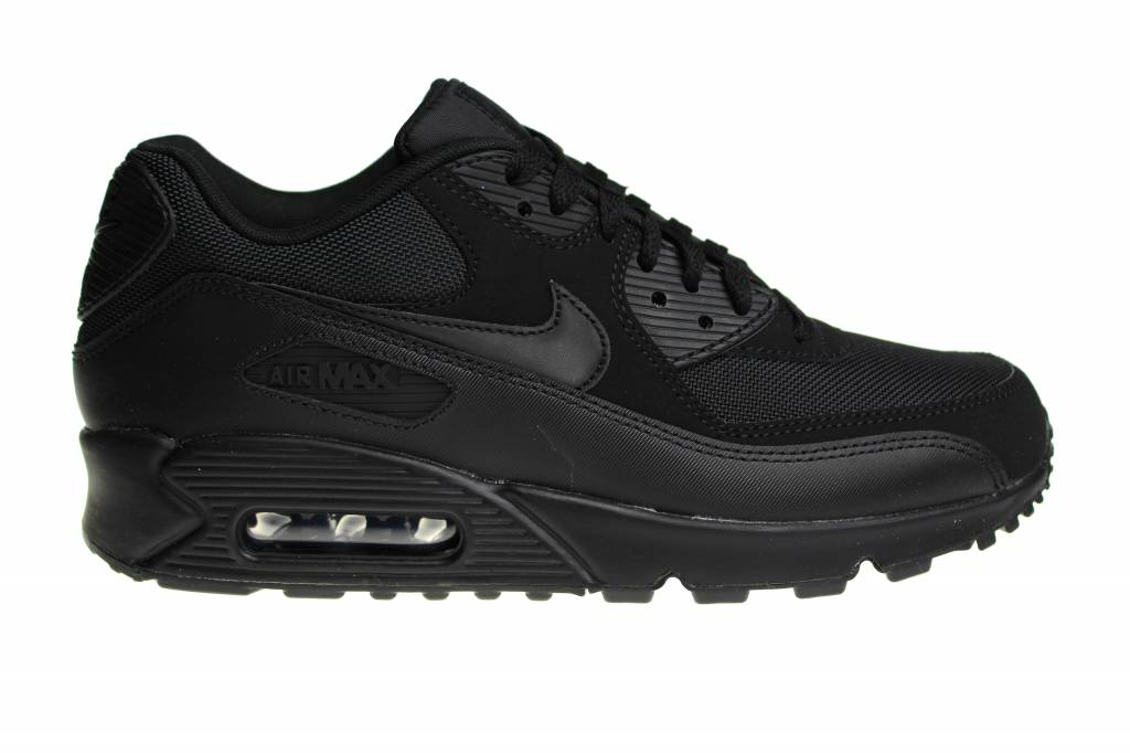 nike air max 90 essential triple black