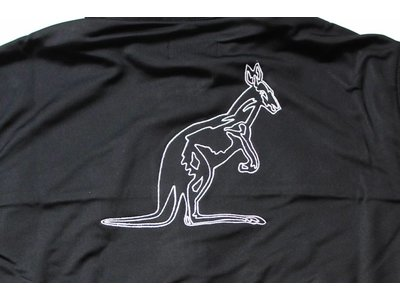 Australian Logo Jack Triacetat Black (Zwart) 88617.003 Herenvesten