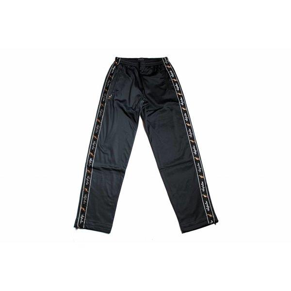 Australian Pantalon Triacetat With Stripe Black 85057.003 Mens' Pants