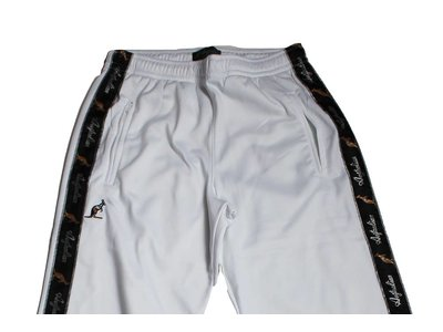 Australian Pantalon Triacetat Met Bies White (Wit) 85057.002 Herenbroeken
