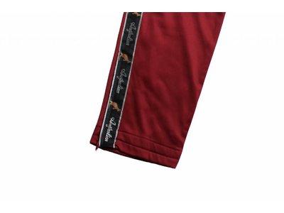 Australian Pantalon Triacetat Met Bies Burgundy (Boreaux Rood) 85057.031 Herenbroeken