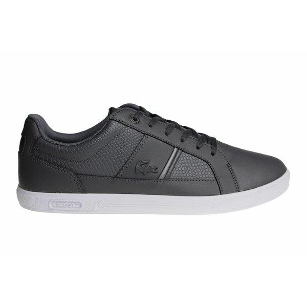 Lacoste Europa Spm Gry Lth/Syn (Gray/White) 7-34SPM0044248 Men's Shoes